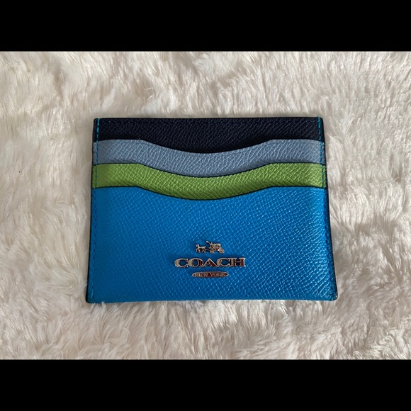 Coach Credit Card Case Holder Wallet- Like New